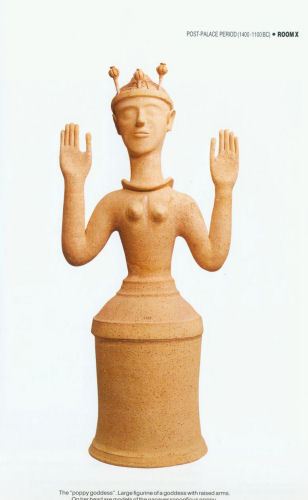 Minoan Poppy Goddess