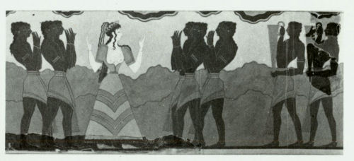 minoan erotic art